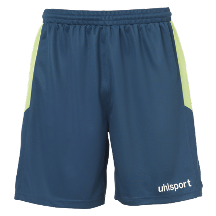 Goal Shorts Petrol / Flash Green